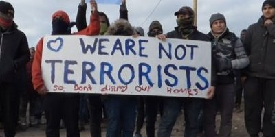 We are not terrorist